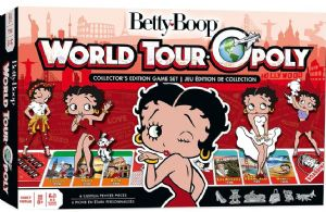 Betty Boop World Tour-Opoly Board Game (mpc)